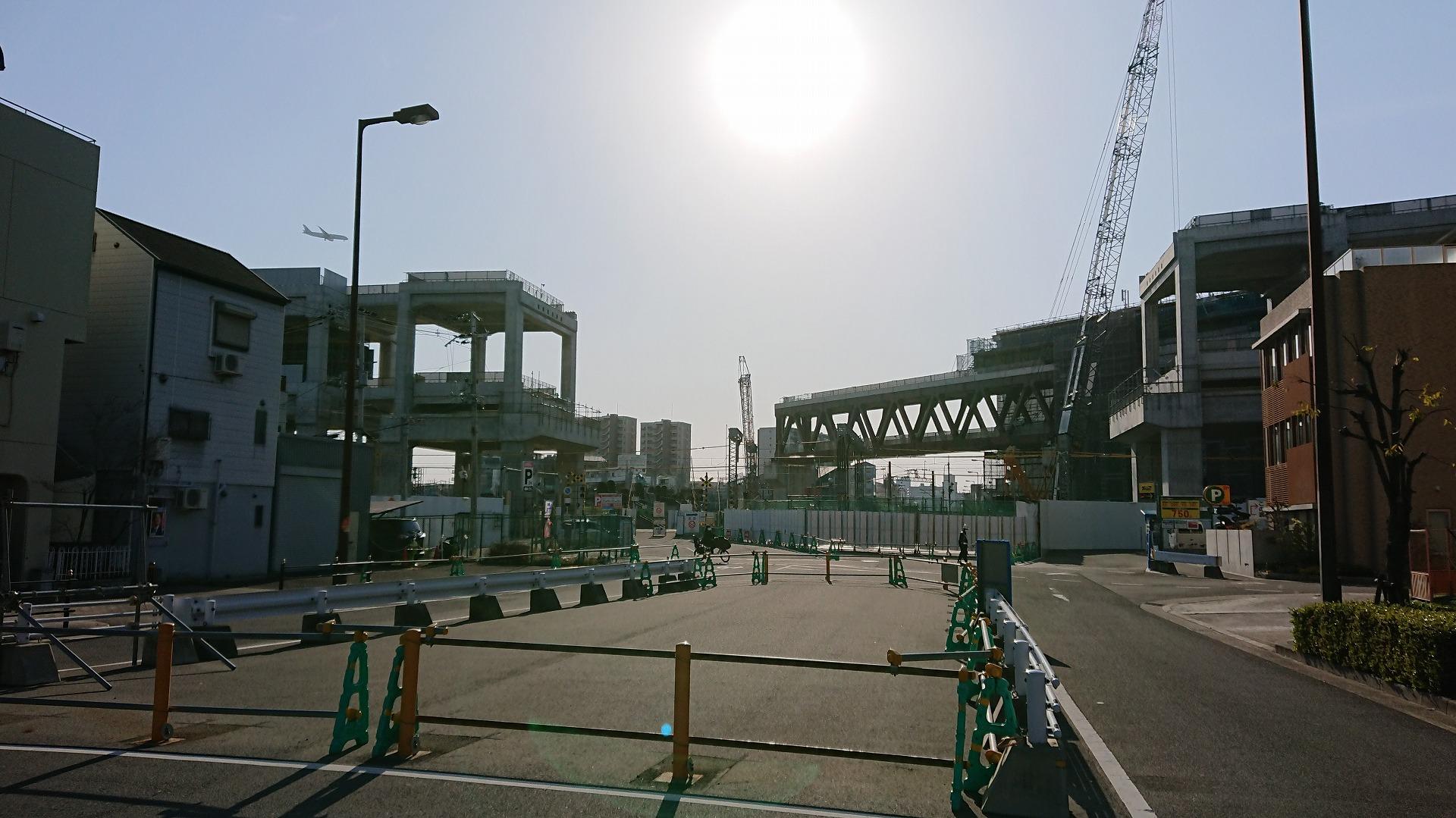 淡路駅のシェアオフィス・レンタルオフィス淡路駅前ラボ近くの都市計画道路歌島豊里線