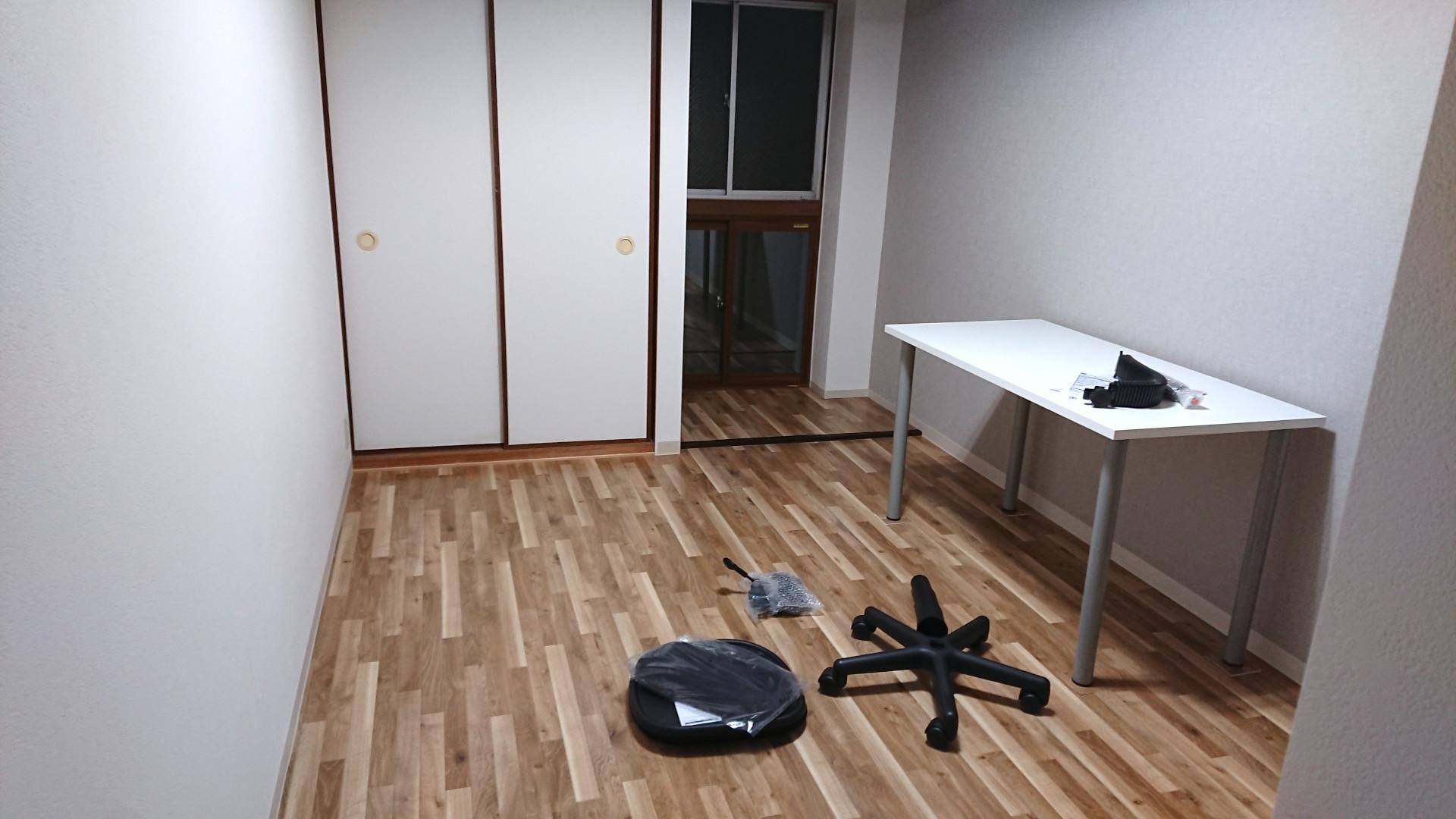 淡路駅の事務所賃貸「淡路駅前ラボ」デスク