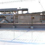 淡路駅の賃貸事務所「淡路駅前ラボ」屋上テラス